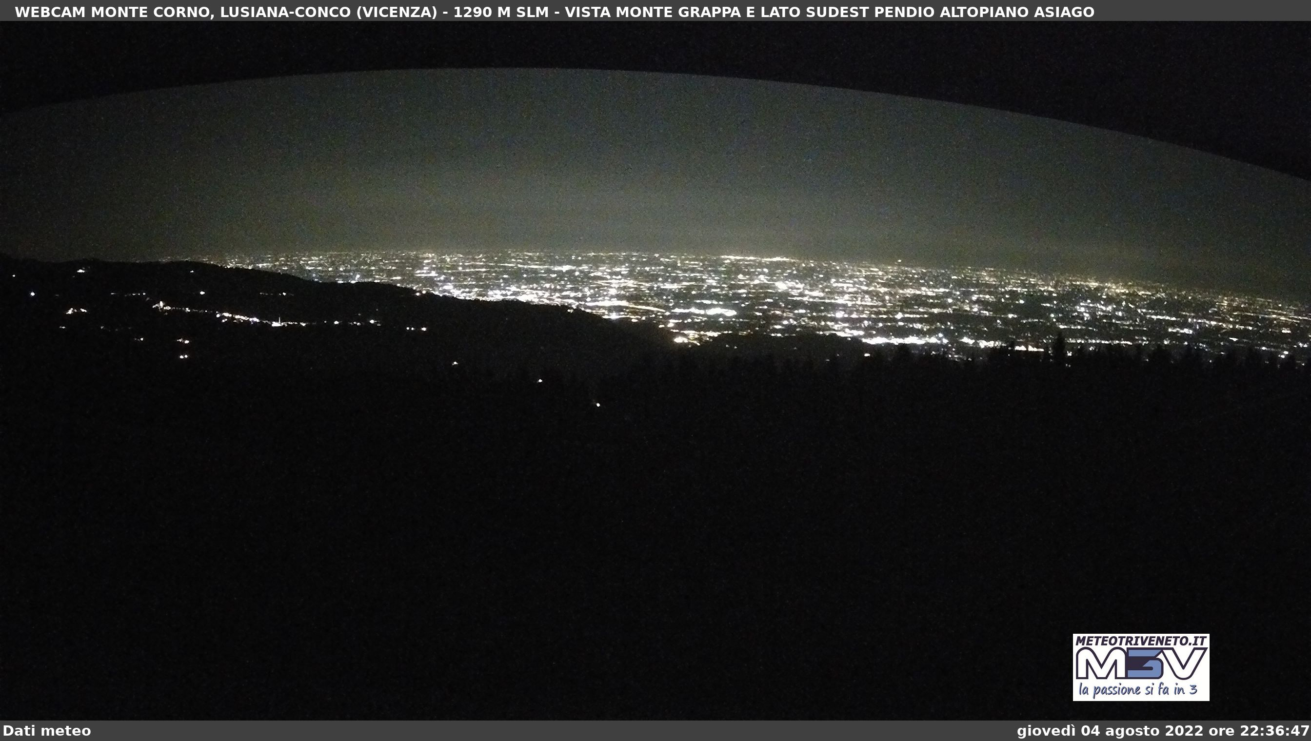 Webcam Monte Corno - Lusiana